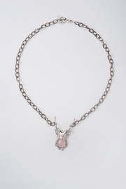 Sacrosanta Lucano Bettle Rose Necklace - Front cropped