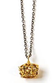 Sacrosanta Queen Crown Necklace - Front cropped