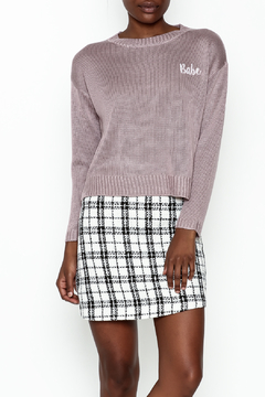 Sadie and Sage Babe Sweatshirt - Product List Image