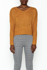 Sadie and Sage Boxy Sweater - Front full body