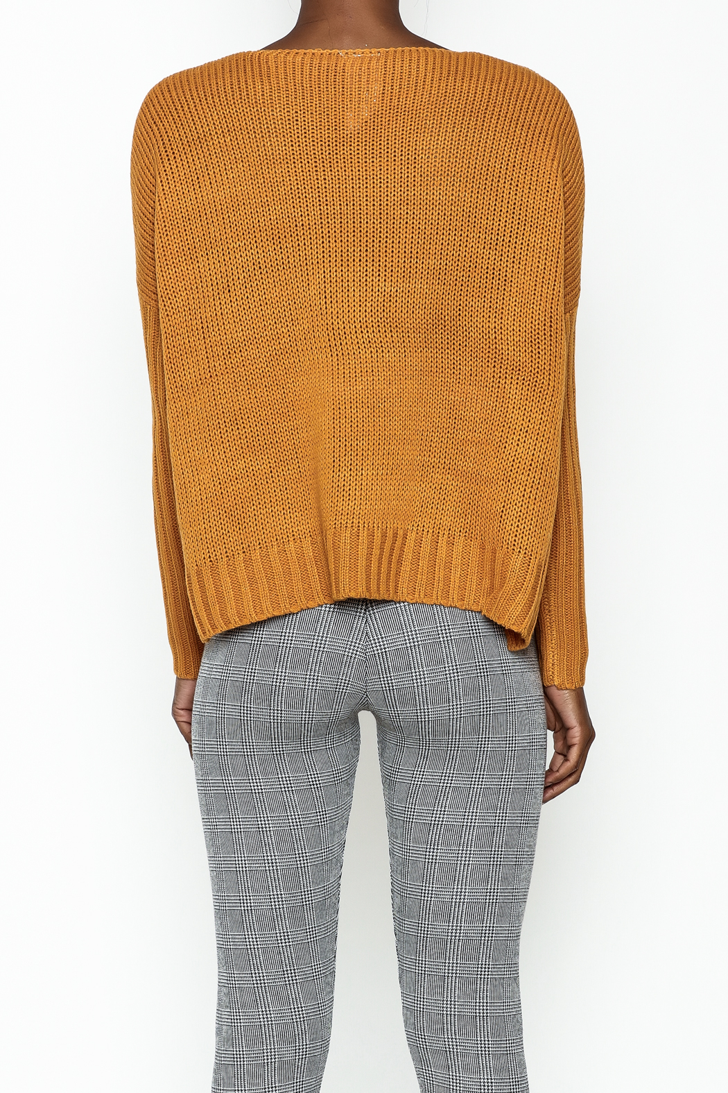 Sadie and Sage Boxy Sweater - Back Cropped Image