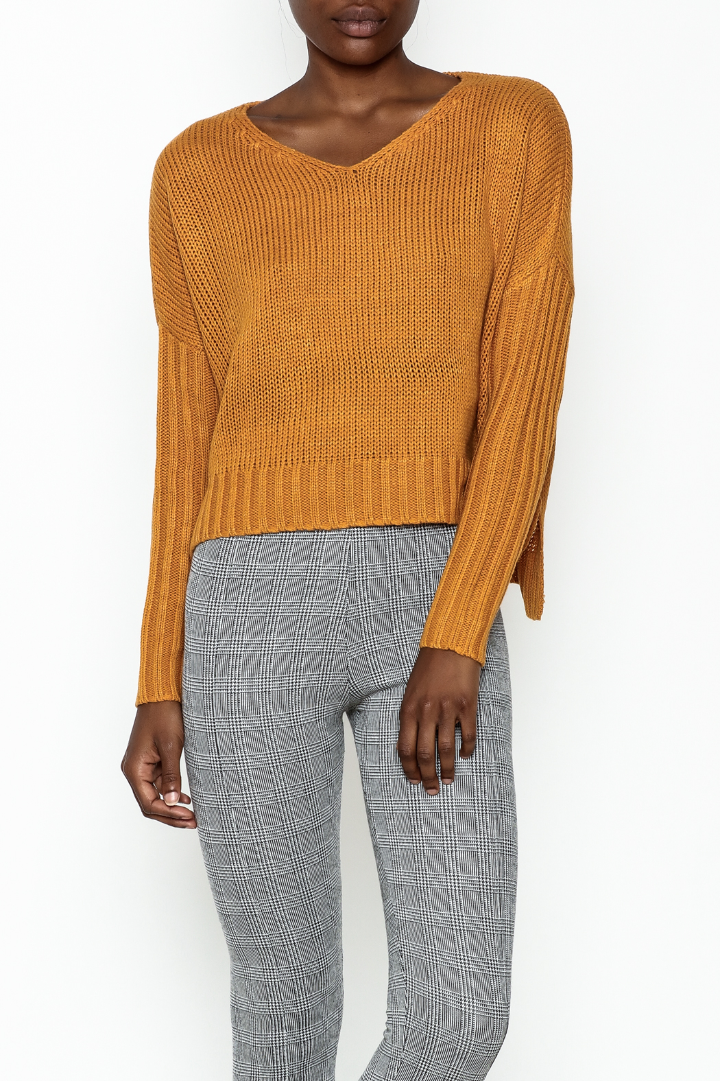 Sadie and Sage Boxy Sweater - Front Cropped Image