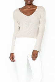 Sadie and Sage Long Sleeve Crop Sweatshirt - Product Mini Image