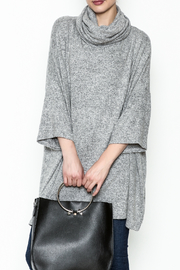 Sadie and Sage Turtleneck Sweater Dress - Front cropped
