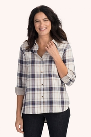 Hatley Sadie Autumn-Plaid Blouse - Product Mini Image
