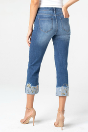 Liverpool Sadie crop straight jean - Front full body