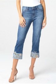 Liverpool Sadie crop straight jean - Product Mini Image
