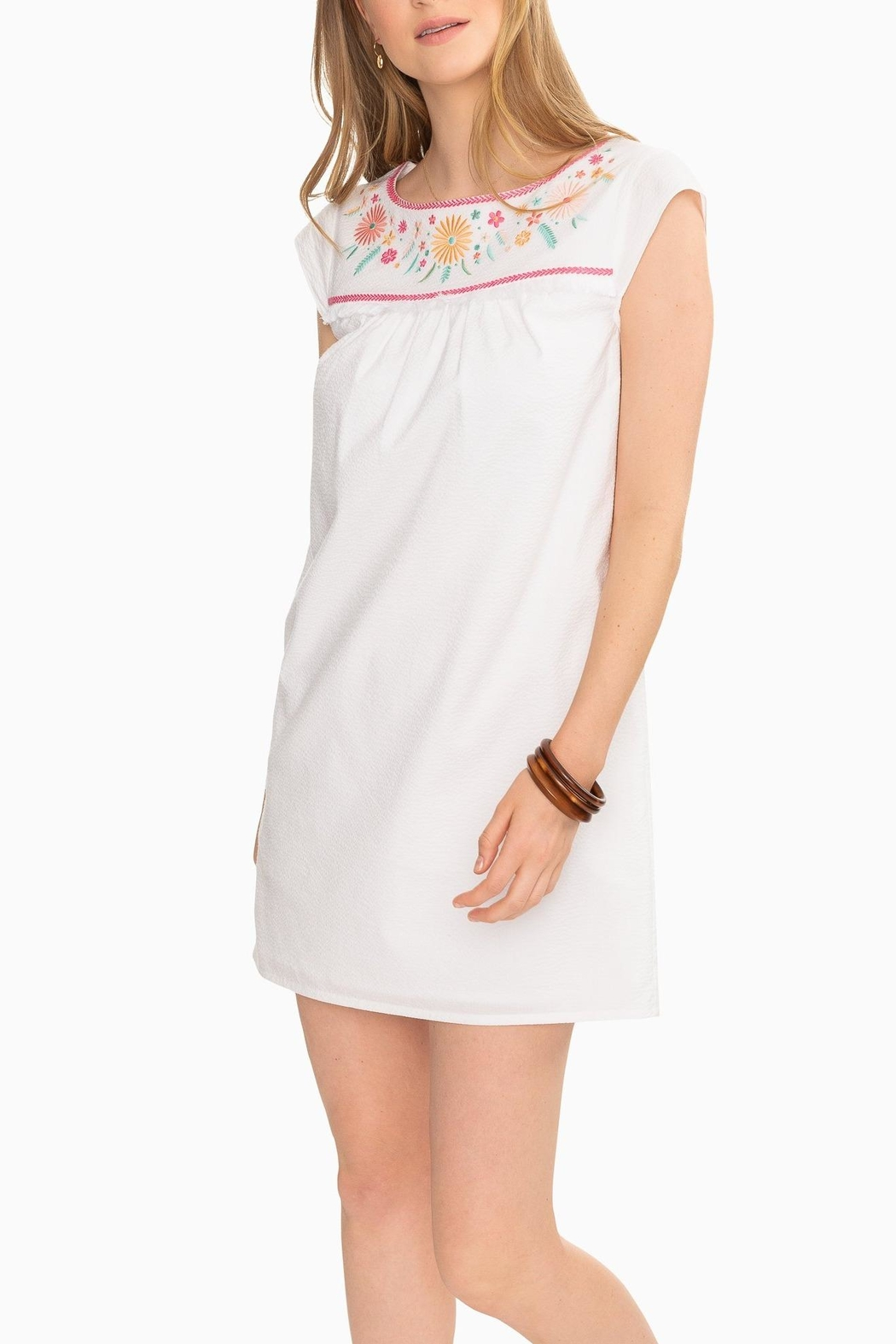 Southern Tide Sadie Embroidered Dress - Main Image