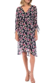 Bobeau Sadie Ruch-Sleeve Dress - Product Mini Image