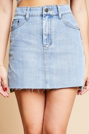 Sadie & Sage Denim Skirt - Product Mini Image