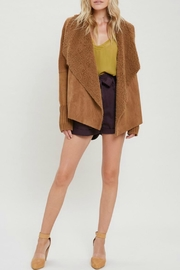 Wishlist Sadie Suede Sweater-Jacket - Product Mini Image