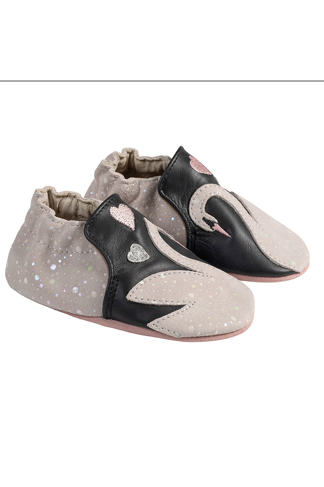 Robeez Sadie Swan Soft Soles - Front Cropped Image