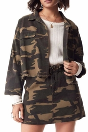 Sadie & Sage Catch-Me Camo Jacket - Front cropped