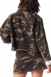 Sadie & Sage Catch-Me Camo Jacket - Front full body