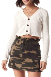 Sadie & Sage Catch-Me Camo Skirt - Product Mini Image