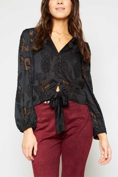 Sadie & Sage Delicate Rose Blouse - Product List Image