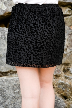 Sadie & Sage Hidden Leopard Skirt - Alternate List Image