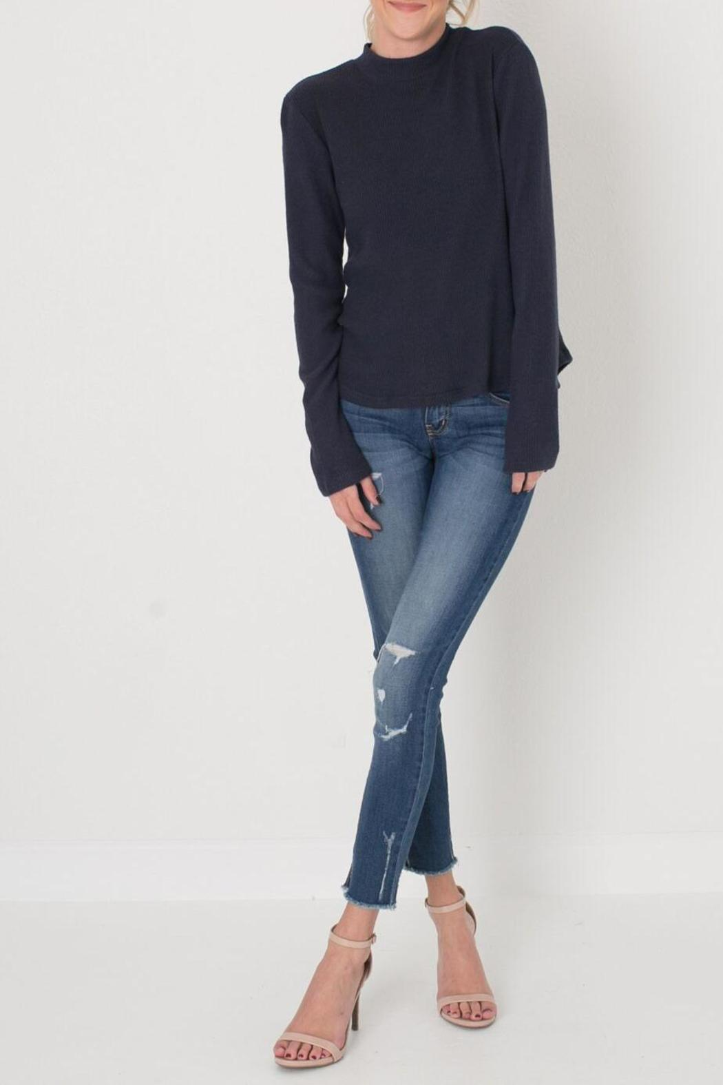 bbbfb242d26 Sadie   Sage Lace Up Ribbed Top from Colorado by Apricot Lane ...