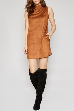 Sadie & Sage Lyla Suede Dress - Product List Image