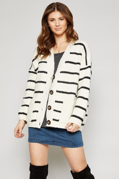 Sadie & Sage Thames Stripe Cardigan - Alternate List Image