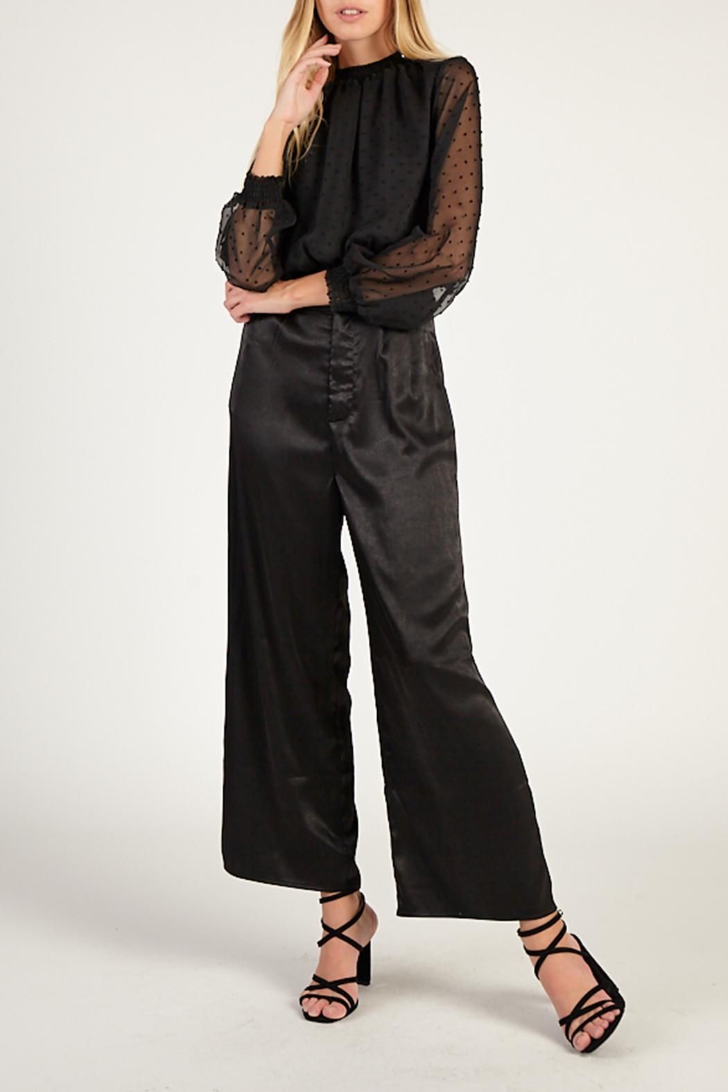 Sadie & Sage Total Eclipse Blouse - Front Cropped Image