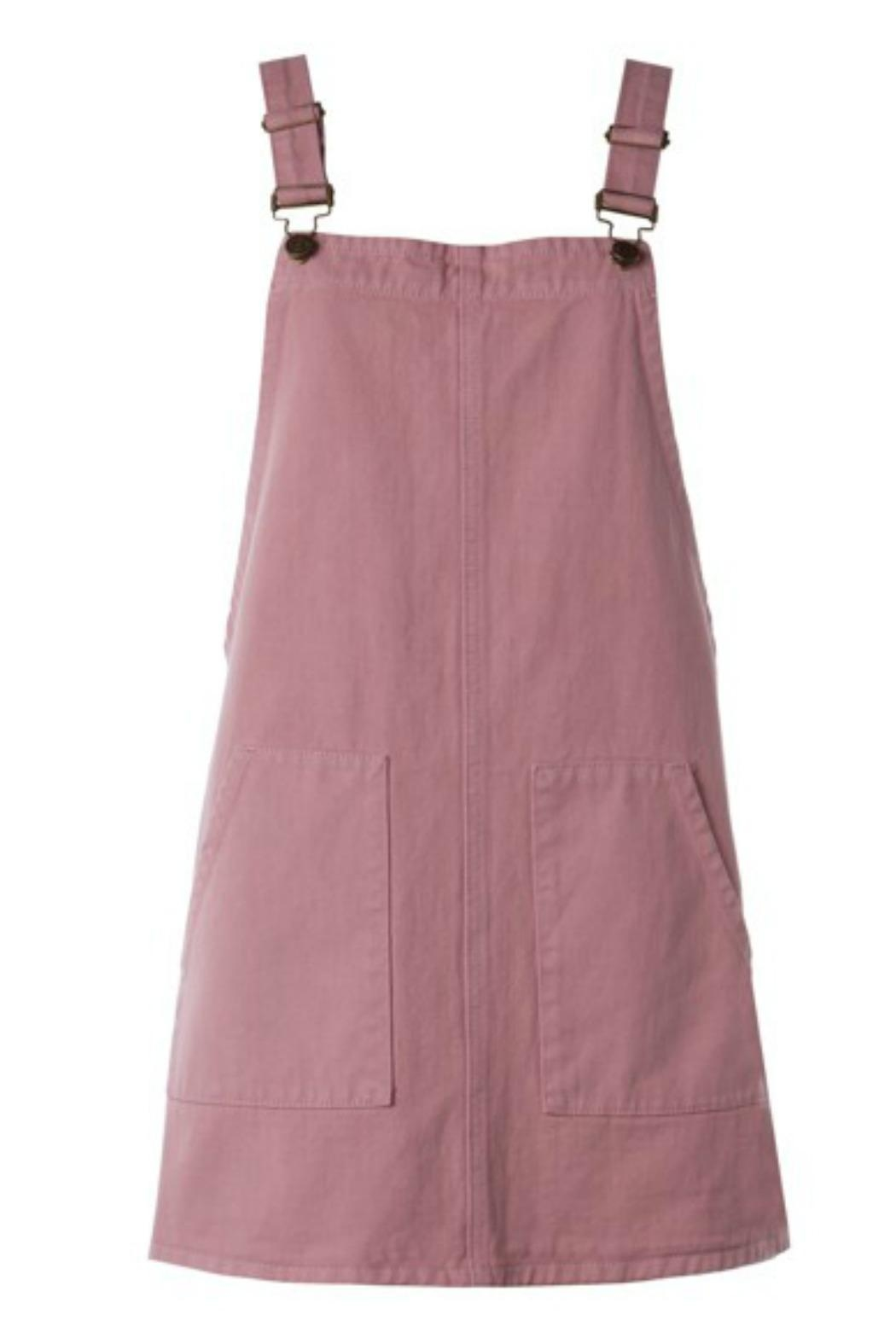 Sadie and Sage Overall Mini Dress - Front Full Image
