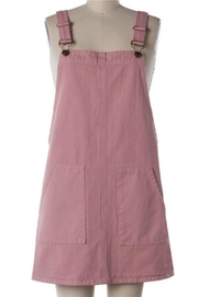Sadie and Sage Overall Mini Dress - Front cropped