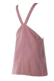 Sadie and Sage Overall Mini Dress - Side cropped