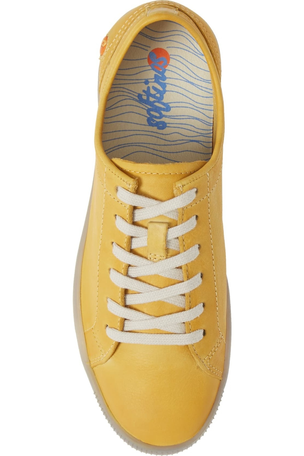 Bos & Co. Sady Leather Sneaker - Front Cropped Image