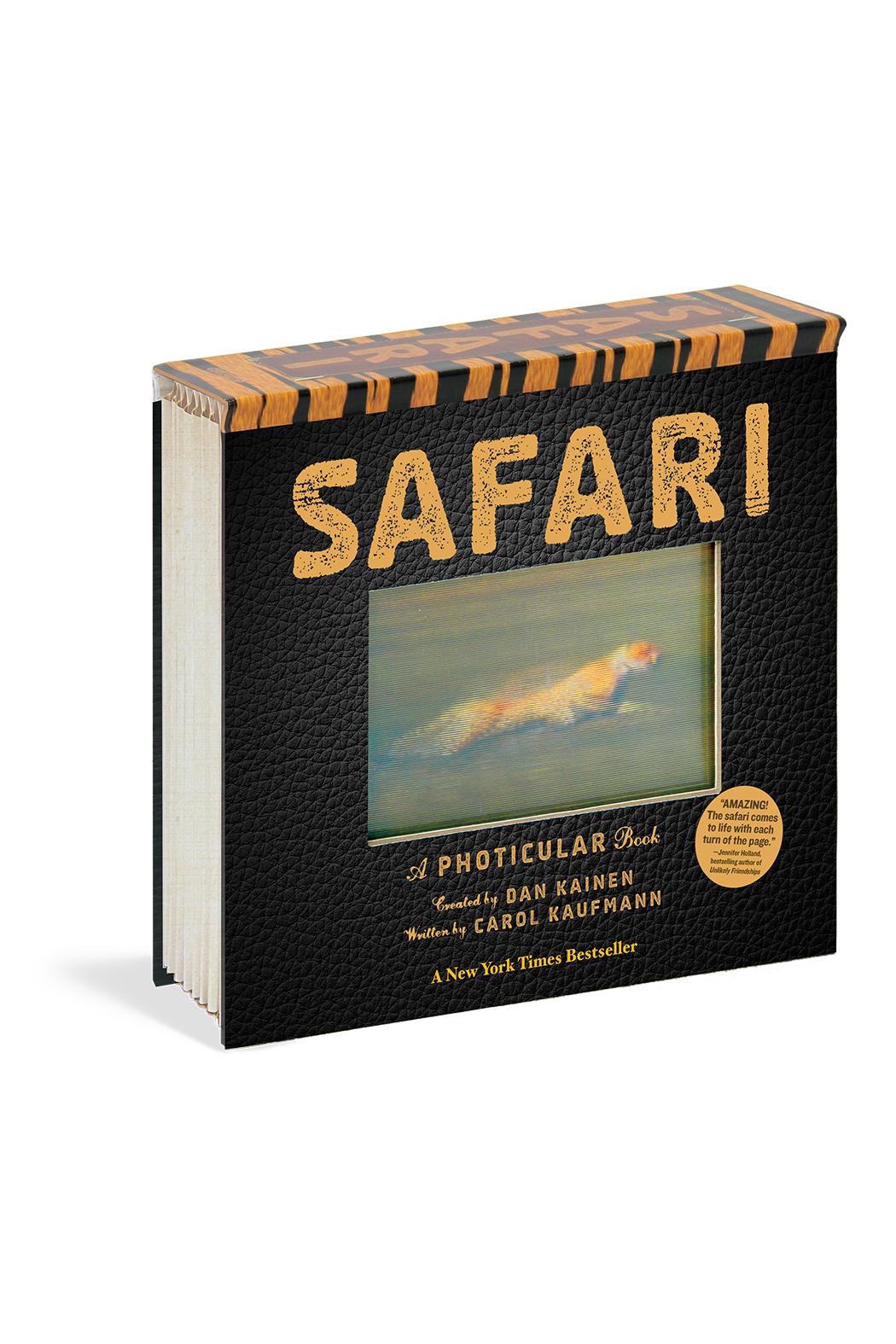 Workman Publishing Safari: A Photicular Book - Front Cropped Image