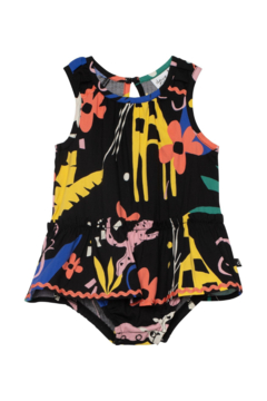 Details about  /Official Licensed Sweet Pea Chill Popeye Unisex Baby Ringer Onepiece Romper