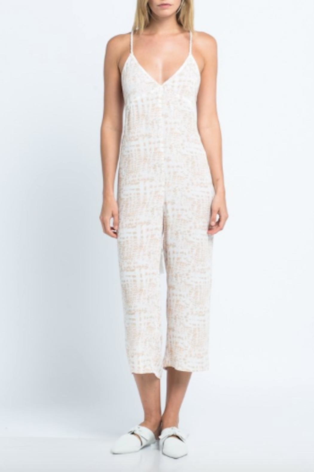 TIMELESS Safari Jumpsuit - Front Cropped Image