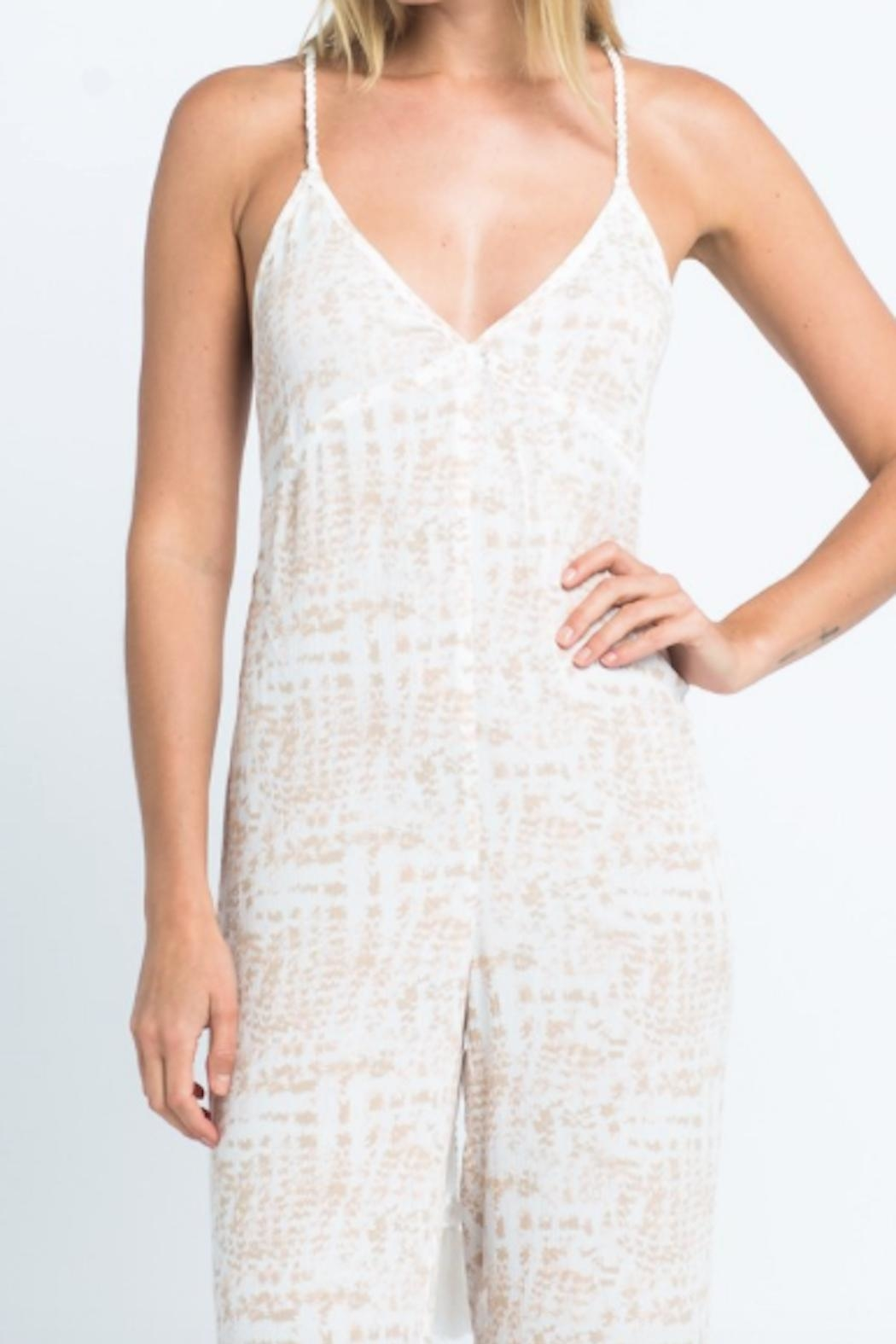 TIMELESS Safari Jumpsuit - Side Cropped Image
