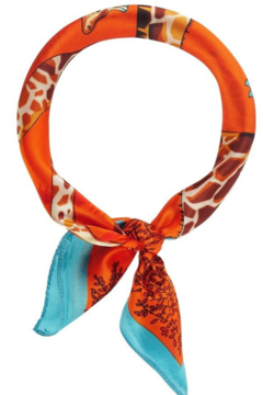 Olive & Pique Safari Print Neckerchief - Product List Image