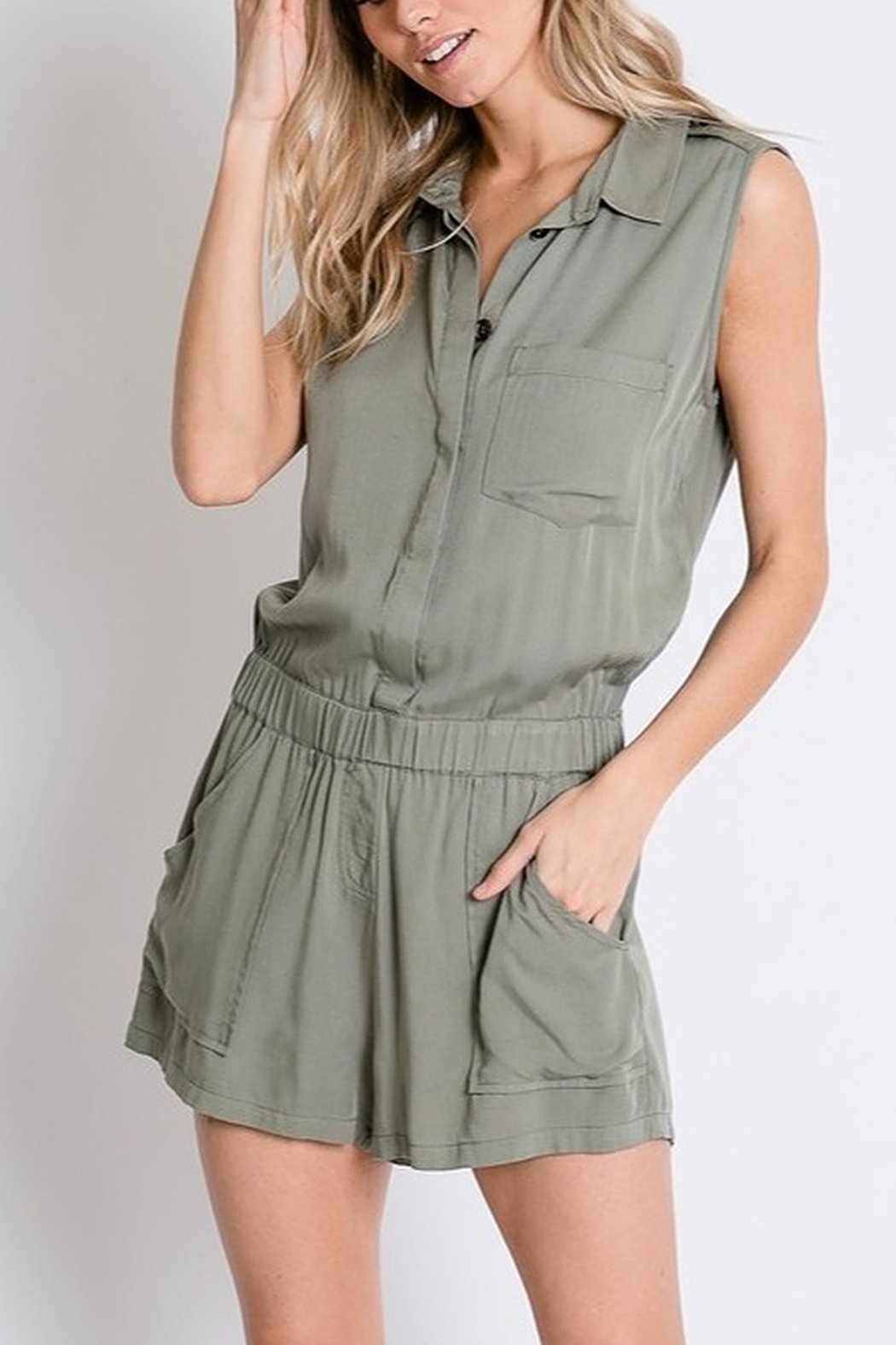Lyn -Maree's Safari Romper - Main Image