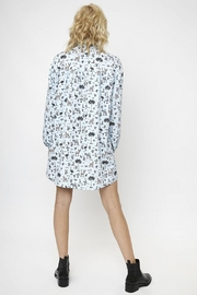 Compania Fantastica Safari Shirt Dress - Front full body