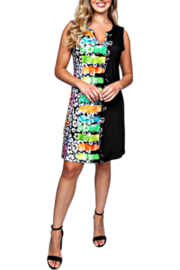 Sno Skins Safari Sleeveless Knit Dress - Product Mini Image