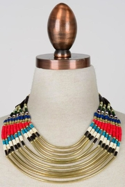 Minx Safari Statement Necklace - Front cropped
