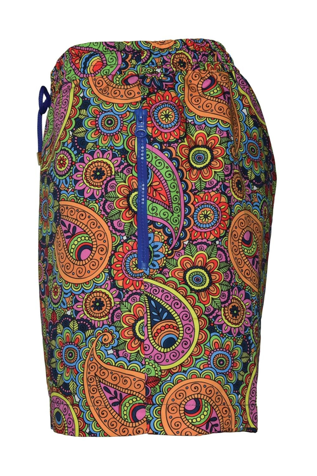 Safe Milano Safe Paisley Beachwear - Side Cropped Image