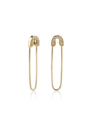 Sydney Evan Safety Pin Earrings - Product Mini Image