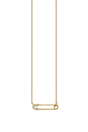 Sydney Evan Safety Pin Necklace - Product Mini Image