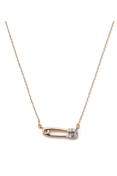 Shoptiques Product: Safety Pin Necklace