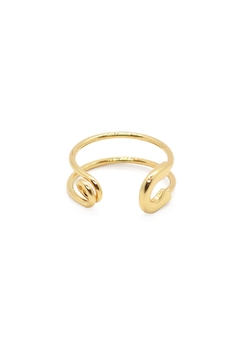 Shoptiques Product: Safety Pin Ring