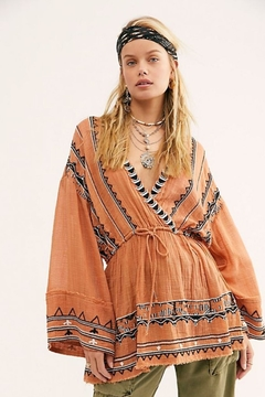 Free People Saffron Embroidered Tunic - Product List Image
