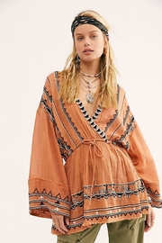Free People Saffron Embroidered Tunic - Front cropped