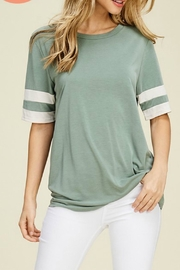 Jodifl Sage Baseball Tee - Product Mini Image