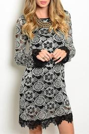 Sage Black Lace Dress - Product Mini Image