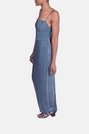 Sage Calm Waters Maxi Dress - Side cropped