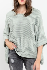 POL Sage Chenille Pullover - Product Mini Image