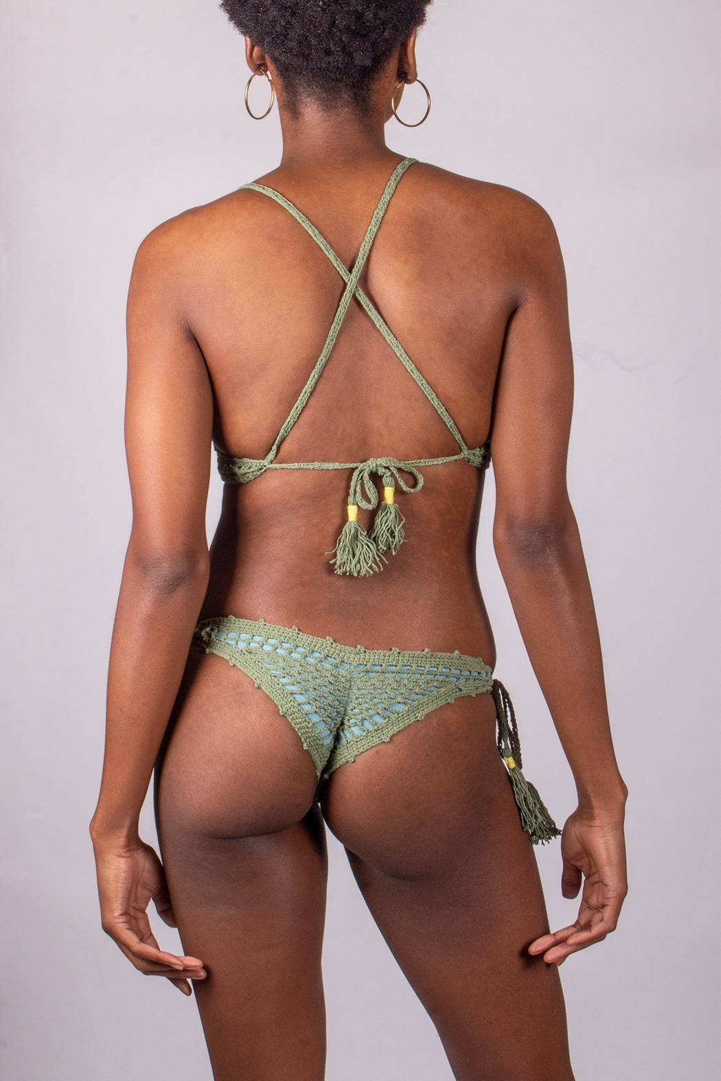 21740f513b beach joy Sage Crochet Swimsuit from Los Angeles by Goldie's ...